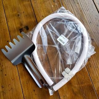 リンナイ(Rinnai)のリンナイ魚焼きヘラ ゴムホース50cm(プロパン用)(調理機器)