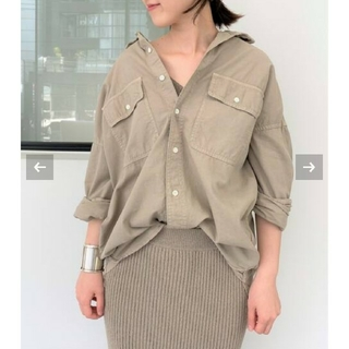 L'Appartement DEUXIEME CLASSE - アパルトモン REMI RELIEF レミレリーフ  Chambray シャツ
