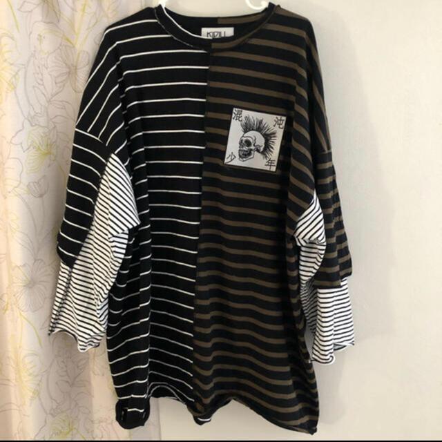 COMME des GARCONS(コムデギャルソン)のkidill レイヤードTシャツ メンズのトップス(Tシャツ/カットソー(半袖/袖なし))の商品写真