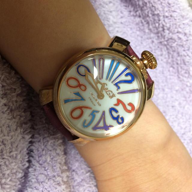 buy online 71af0 c1402 ガガミラノ*レディース ピンク 時計