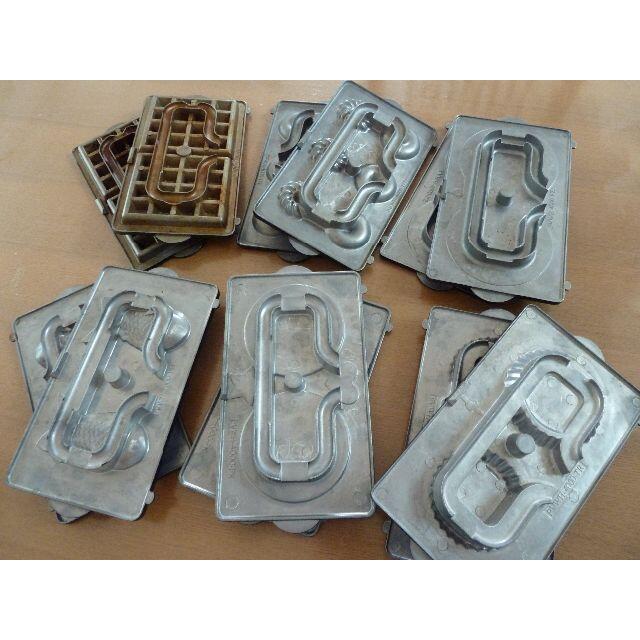 ビタントニオプレート6種セットUSED スマホ/家電/カメラの調理家電(サンドメーカー)の商品写真