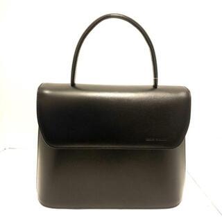 ミラショーン(mila schon)のミラショーン ハンドバッグ美品  - 黒(ハンドバッグ)
