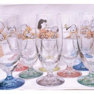 PEANUTS - スヌーピー グラス 8個セット