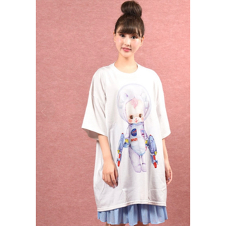 ミルクボーイ(MILKBOY)のland by  MILKBOY Cerise  MAKI BIG Tシャツ(Tシャツ/カットソー(半袖/袖なし))