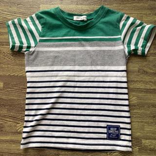 サンカンシオン(3can4on)の3can4on ボーダーTシャツ100(Tシャツ/カットソー)