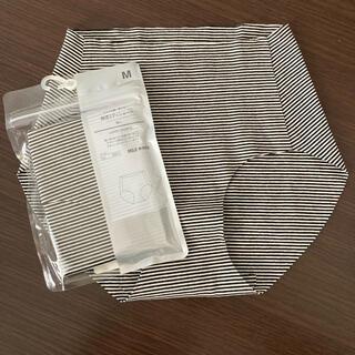 ムジルシリョウヒン(MUJI (無印良品))の無印良品 ショーツ 綿混ミディショーツ Mサイズ 2枚セット(ショーツ)