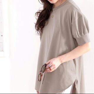 classicalelf Tシャツ   半袖バックヘンリーチュニック (Tシャツ(半袖/袖なし))