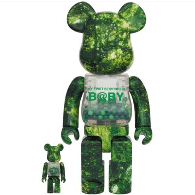 MEDICOM TOY(メディコムトイ)のMY FIRST BE@RBRICK B@BY FOREST GREEN Ver エンタメ/ホビーのフィギュア(その他)の商品写真