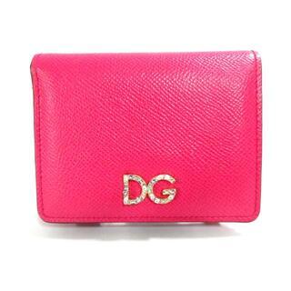ドルチェアンドガッバーナ(DOLCE&GABBANA)のドルチェアンドガッバーナ 2つ折り財布(財布)