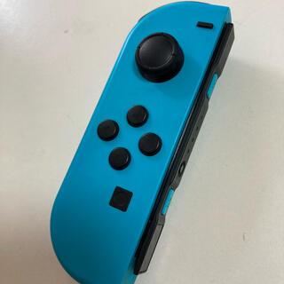 ニンテンドースイッチ(Nintendo Switch)の☆値下☆switchジョイコン(L)ネオンブルー ジャンク品(その他)