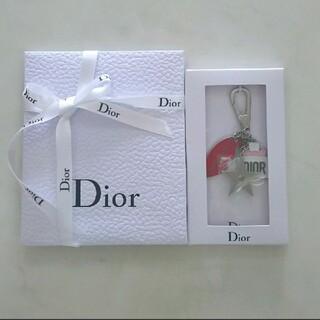 ディオール(Dior)のディオール◆キーホルダー◆チャーム◆唇◆リップ◆香水◆星◆Dior◆ノベルティ(キーホルダー)