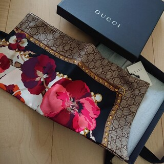 グッチ(Gucci)のGUCCI グッチ スカーフ(バンダナ/スカーフ)