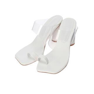 アリシアスタン(ALEXIA STAM)の値下げ!ALEXIA STAM ★ Clear Strap Sandals(サンダル)