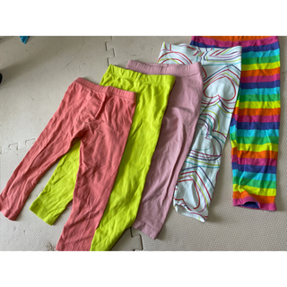 女の子 ストレッチパンツ 4枚セット(パンツ/スパッツ)