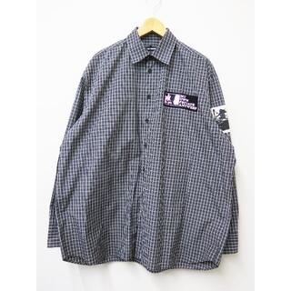 ラフシモンズ(RAF SIMONS)のRAFSIMONS 20SS Oversized shirt パッチ 美品(シャツ)