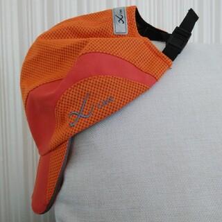 シーダブリューエックス(CW-X)の帽子 ランニング用 オレンジ CW-X /ワコール(ランニング/ジョギング)