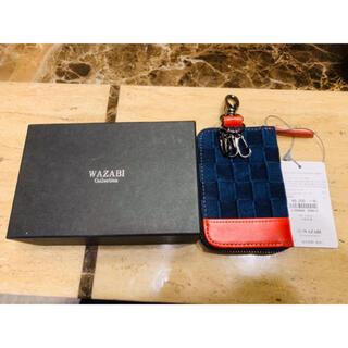 ディーゼル(DIESEL)のwazabi キーケース ワザビ 新品未使用 デニム (キーケース)