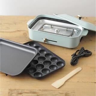 I.D.E.A international - BRUNO BOE021-WH ホットプレート たこ焼き器 グリル 鍋