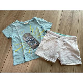 ザラキッズ(ZARA KIDS)のZARA kids Tシャツ・短パンセット(Tシャツ)