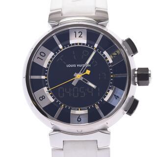 ルイヴィトン(LOUIS VUITTON)のルイヴィトン  タンブール インブラック 腕時計(腕時計(アナログ))