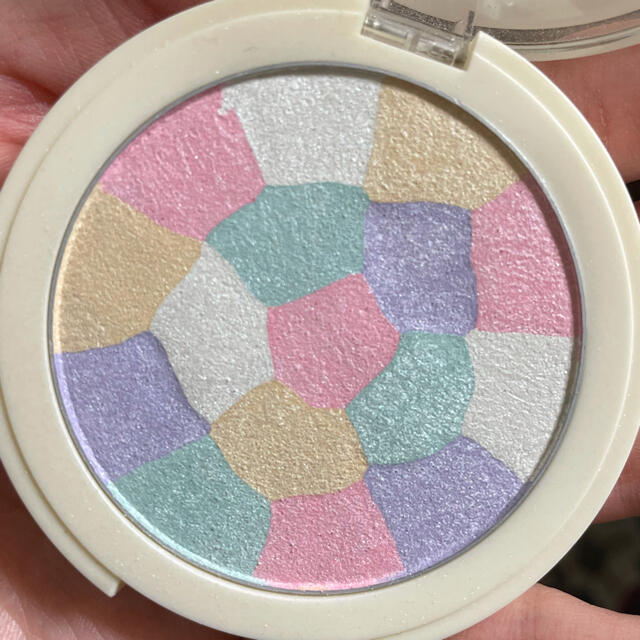 the saem(ザセム)のthe SEAM S ハイライター ピンクホワイト コスメ/美容のベースメイク/化粧品(フェイスパウダー)の商品写真