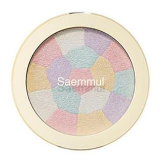 ザセム(the saem)のthe SEAM S ハイライター ピンクホワイト(フェイスパウダー)