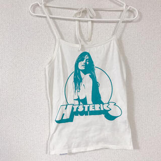 HYSTERIC GLAMOUR - HYSTERIC GLAMOUR キャミソール ホルターネック ヒス