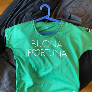 フィラ(FILA)のFILA グリーン テニスTシャツMサイズ(ウェア)