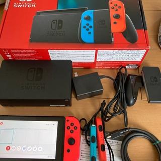 Nintendo Switch - Nintendo Switch JOY-CON(L)(R)本体セット中古 動作品