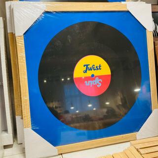 フライングタイガーコペンハーゲン(Flying Tiger Copenhagen)のLPレコード カバーフレーム 額縁 フレーム LPカバーフレーム 正方形(フォトフレーム)