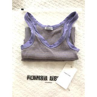 ロンハーマン(Ron Herman)のfumika  uchida タンクトップ フミカウチダ 21ss ボーダー(タンクトップ)