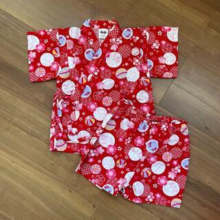 ニシマツヤ(西松屋)の*浴衣* サイズ80 (甚平/浴衣)