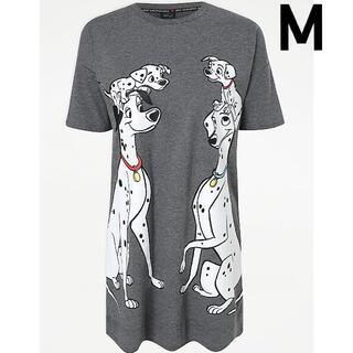 ディズニー(Disney)の日本未発売 ディズニー 101匹わんちゃん ロングTシャツ ワンピース M(ひざ丈ワンピース)