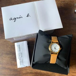 agnes b. - アニエスベー agnes b. 腕時計 ソーラー