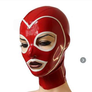 ラバー ラテックス フェティッシュ 全頭マスク マスク(小道具)