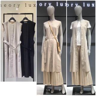 セオリーリュクス(Theory luxe)の  theory luxe  20SS CRUNCH 2WAYワンピース ジレ(ロングワンピース/マキシワンピース)