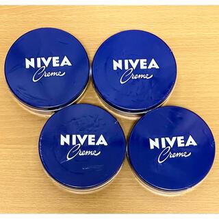 ニベア - ニベア 青缶 4個 ニベアクリーム 大缶 169g NIVEA