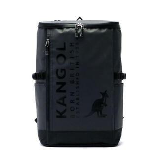 カンゴール(KANGOL)のKANGOLスクエアリュックブラック250-14951 ¥8800→¥5500(バッグパック/リュック)