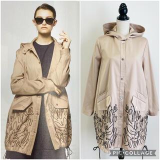 ⭐︎美品⭐︎ 定価13万円 アディアム ADEAM 最高級刺繍 ロング コート(ロングコート)