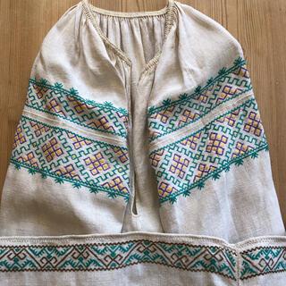 ミナペルホネン(mina perhonen)のウクライナ刺繍 ワンピース(ロングワンピース/マキシワンピース)