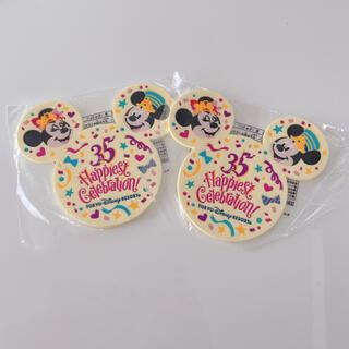 Disney - 新品未使用 ディズニーリゾート 35周年 コースター 二つセット