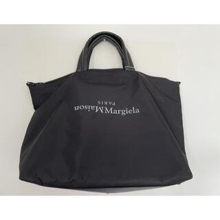 マルタンマルジェラ(Maison Martin Margiela)のMaison Margielaフェイクレザートリムシェル加工生地バッグ(トートバッグ)