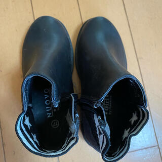 ヌォーボ(Nuovo)のNUOVO キッズ ブーツ 17センチ 黒(ブーツ)