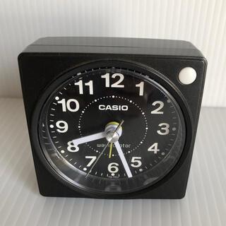 カシオ(CASIO)のCASIO 置時計 電波時計  TQ-750J-1 JF  ミニ時計(置時計)