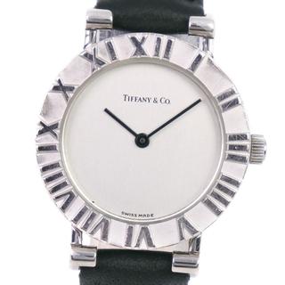 Tiffany & Co. - ティファニー アトラス   L0640  シルバー925 レザー