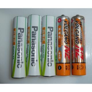パナソニック(Panasonic)の単4形充電電池充電池PANASONIC EVOLTA他(バッテリー/充電器)