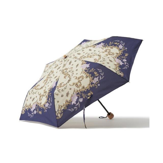 Francfranc(フランフラン)のfrancfranc フランフラン 日傘 雨晴兼用 スカーフ 47cm レディースのファッション小物(傘)の商品写真