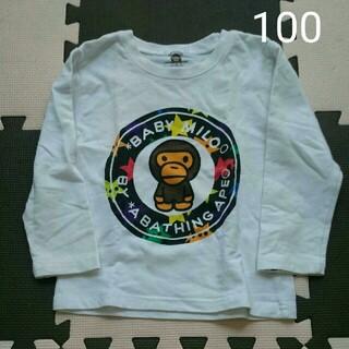 アベイシングエイプ(A BATHING APE)のアベイシングエイプ  BAPE KIDS マイロ ロンティー 100(Tシャツ/カットソー)