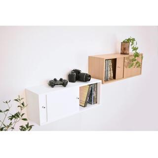 ムジルシリョウヒン(MUJI (無印良品))の賃貸OK 壁に取り付けられる収納(棚/ラック/タンス)