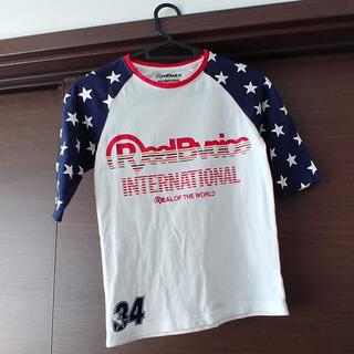 リアルビーボイス(RealBvoice)のRealBvoice 五分袖シャツ 120(Tシャツ/カットソー)